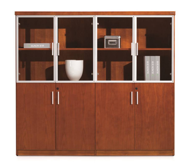 Wood Lever Arch Cabinet