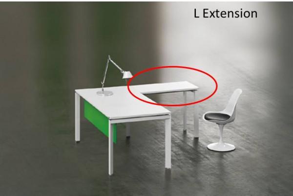 Return for L Shape Desk